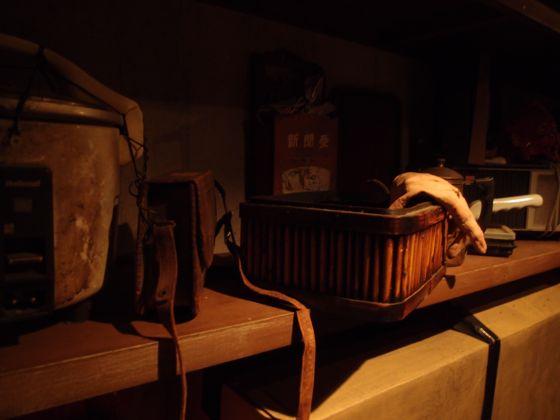 お化け屋敷の人形倉庫