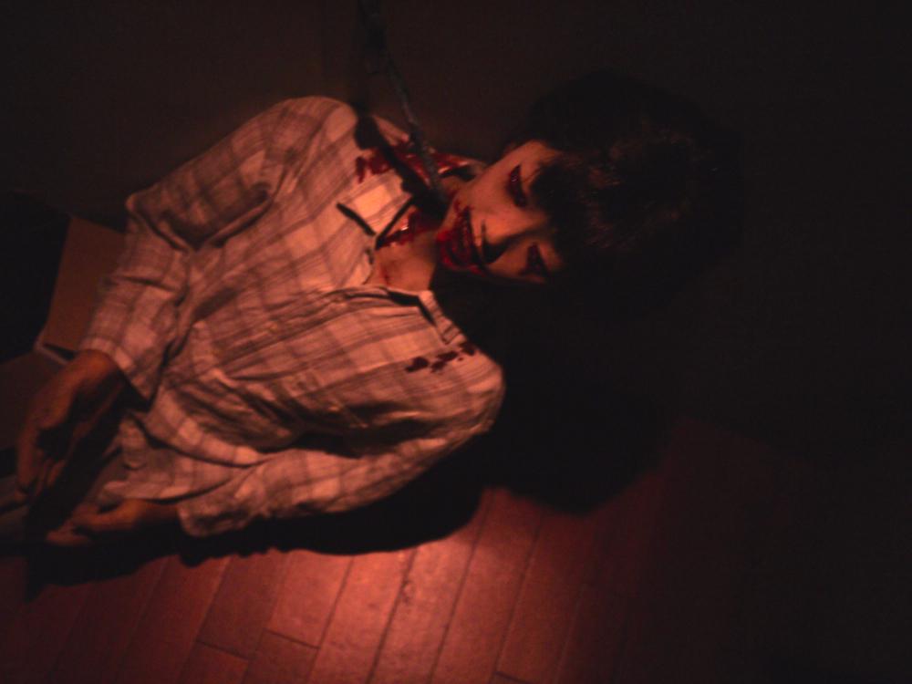PAPIKO×お化け屋敷「呪いばさみの家」