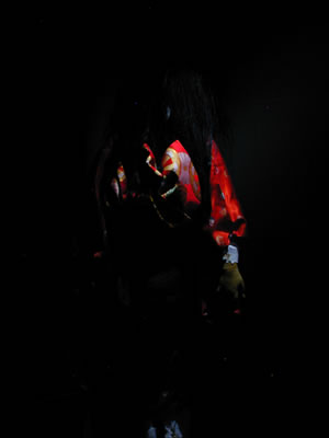 血の妖面屋敷写真