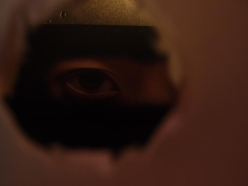 赤ゲットの幽霊写真