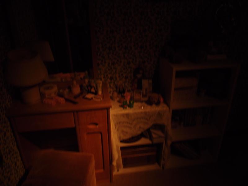 闇化粧の家